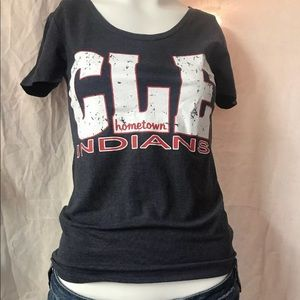 ♻️ Cleveland Indians Hometown Tribe baseball tee